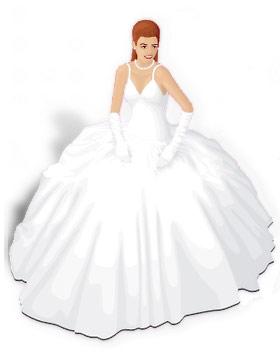 Свадебное платье Шар подходит для тех невест, которые предполагают свадьбу в стиле сказки . Силуэт этого платья состоит из топа и пышной юбки