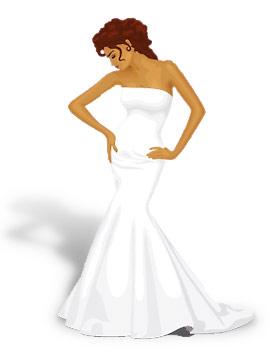 Стиль свадебного платья: Русалка